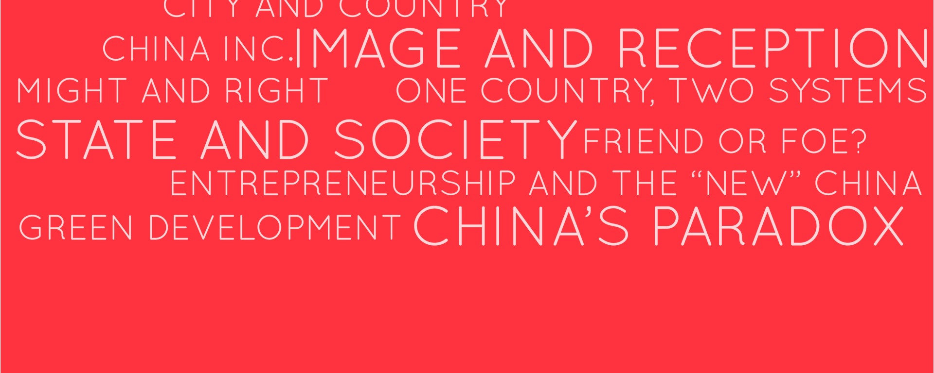Key Themes for China 2013