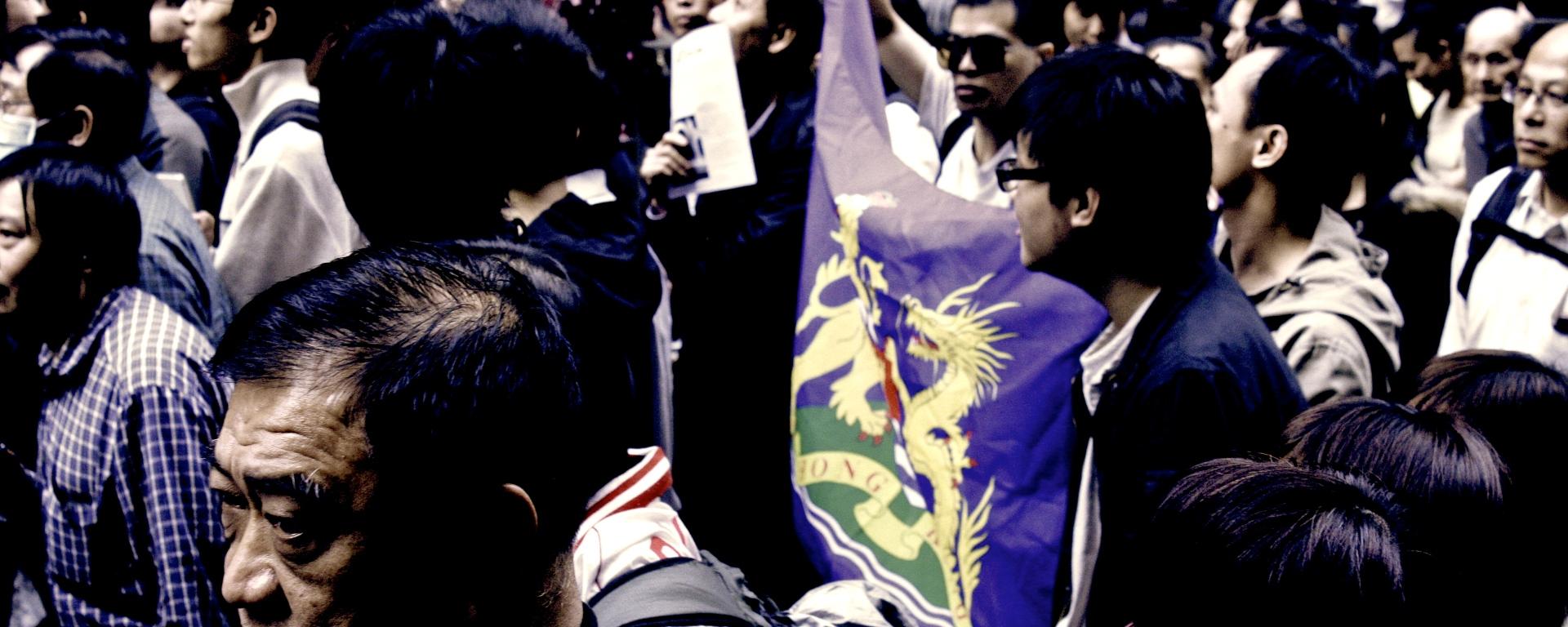 Riots in Hong Kong