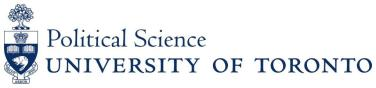 The Department of Political Science Logo