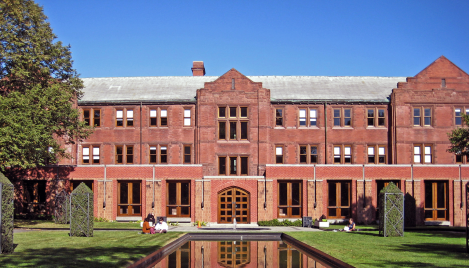 Munk School Courtyard